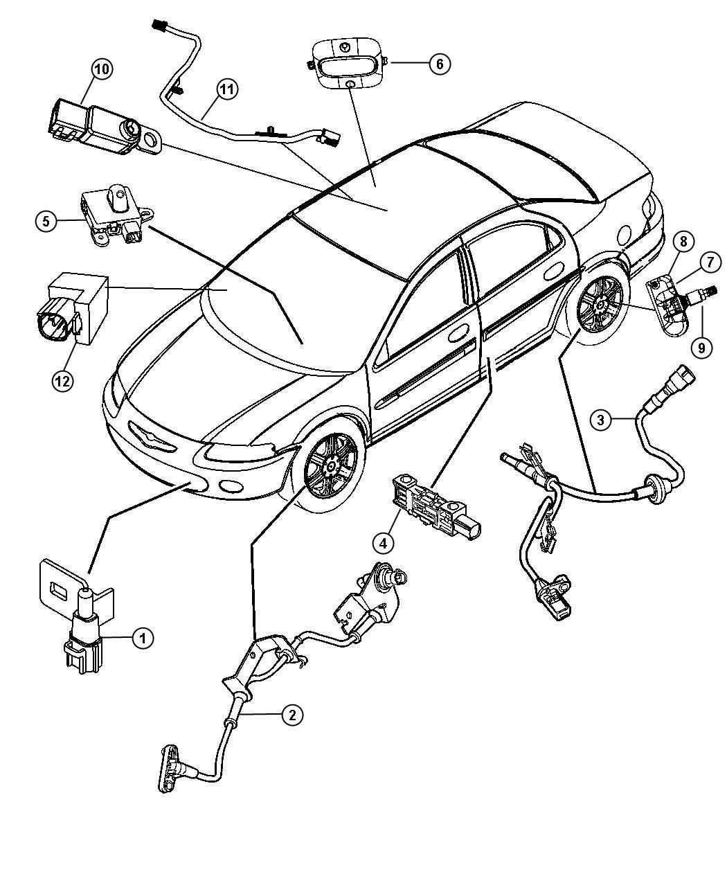 Dodge Ram Sensor Air Temperature Temperature