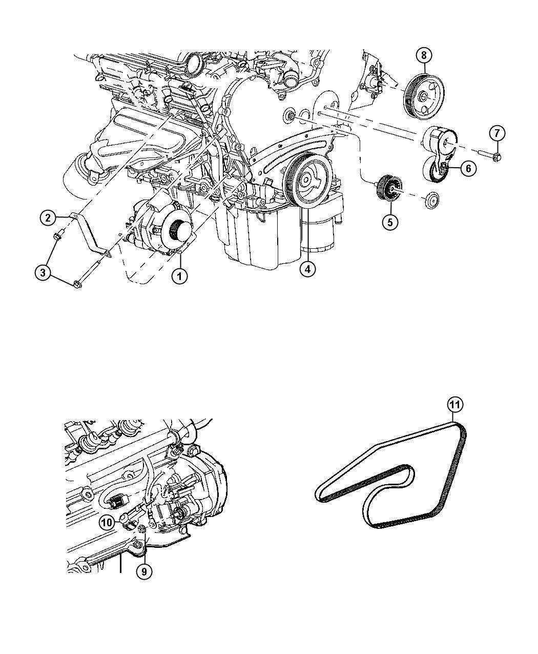 Dodge Ram Bolt Hex Flange Head M10x1 50x55 00