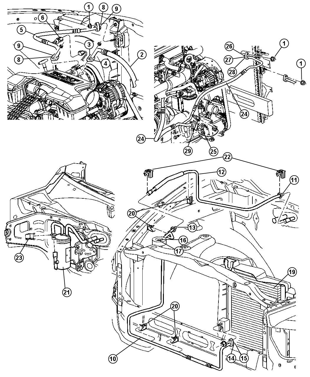 2002 Dodge Dakota Ac System Diagram. Dodge. Wiring Diagram