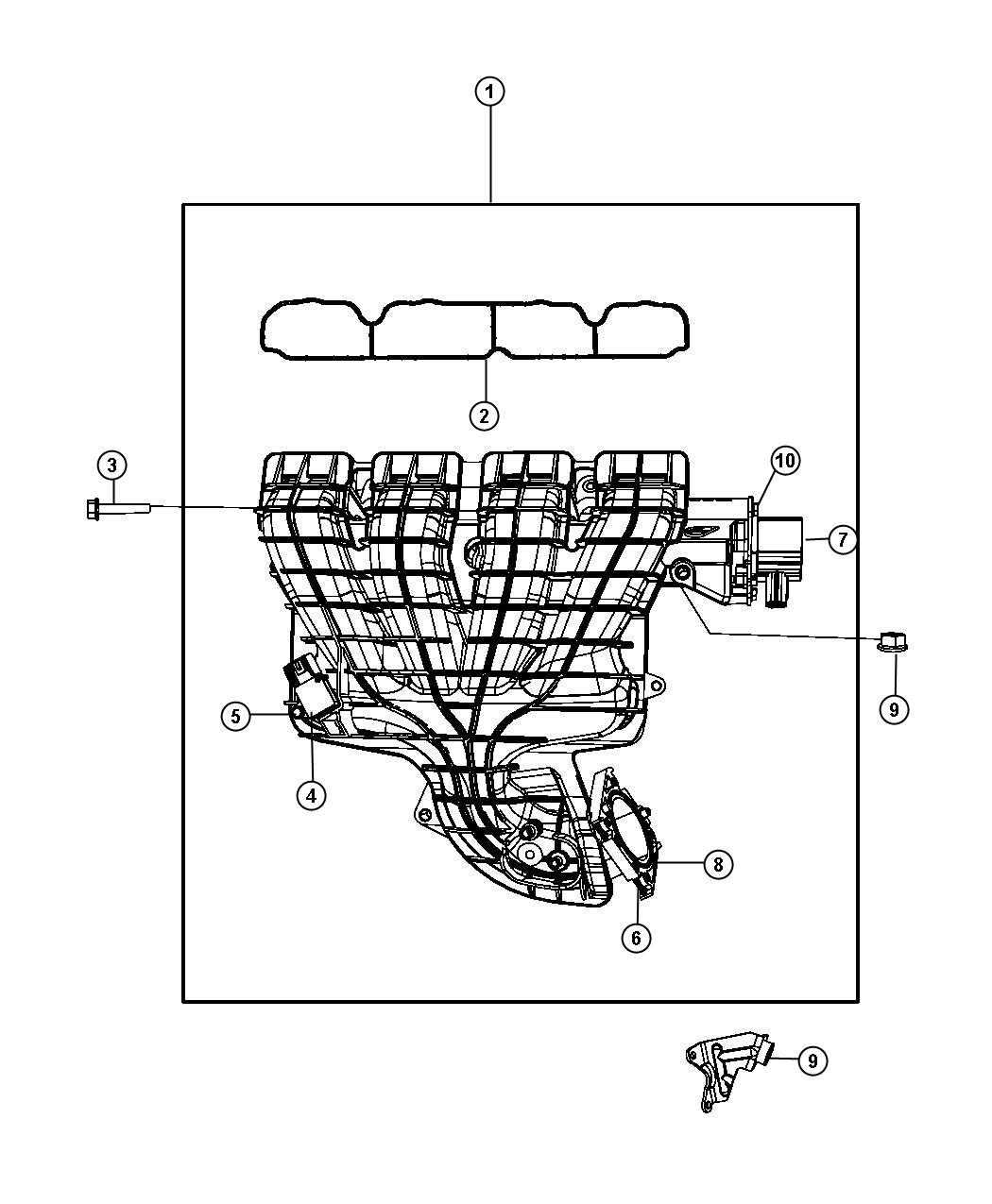 2008 dodge avenger belt diagram 2005 chevy equinox starter wiring 2 4l engine 2011 chrysler 200