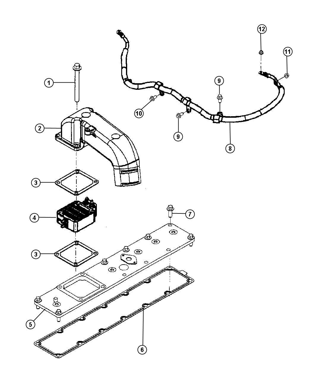 Dodge Ram Wiring Air Intake Heater Pch