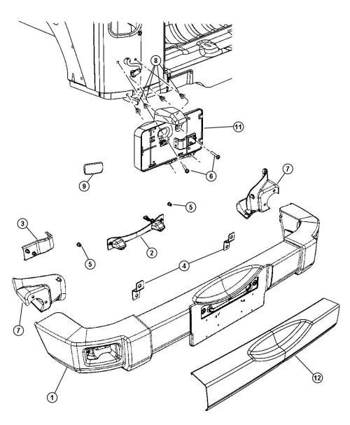 small resolution of jeep grand cherokee rear bumper parts diagram jeep tj rear bumper stock jeep bumper 2016
