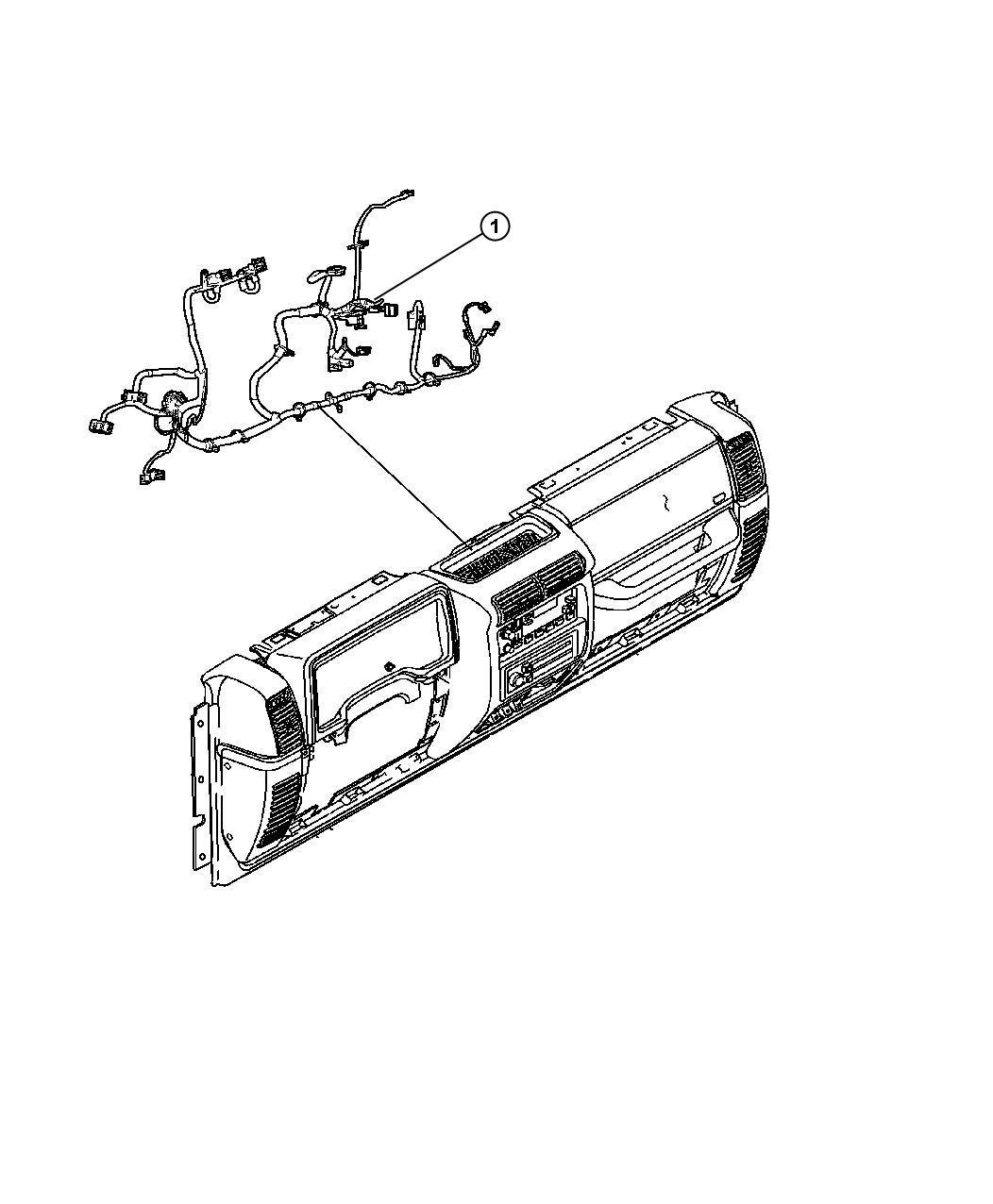 2010 Jeep Wrangler Wiring. Instrument panel. [[pwr windows