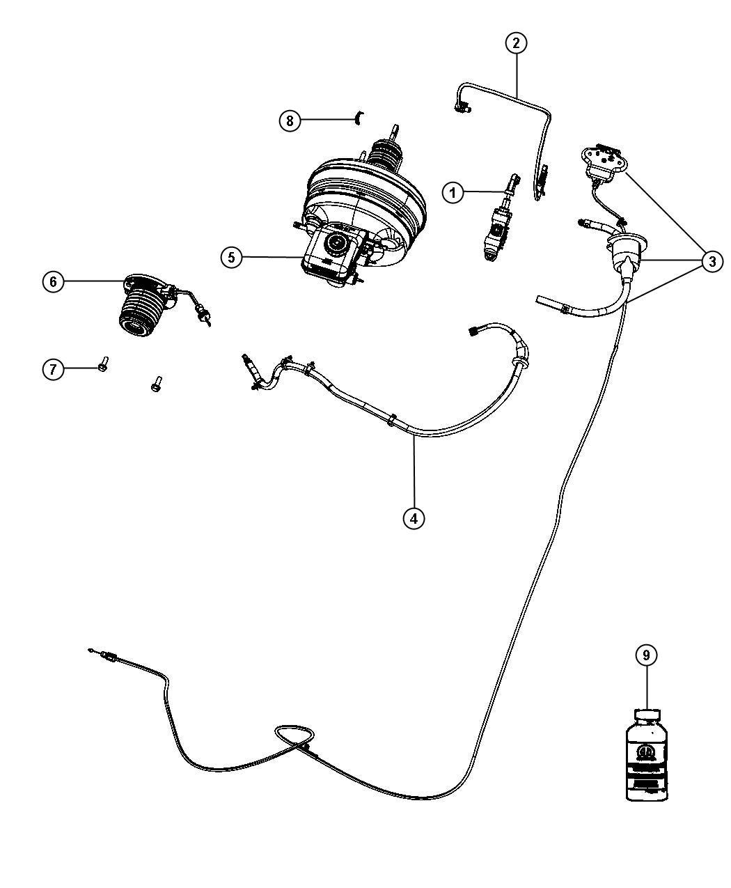 Controls Hydraulic Clutch