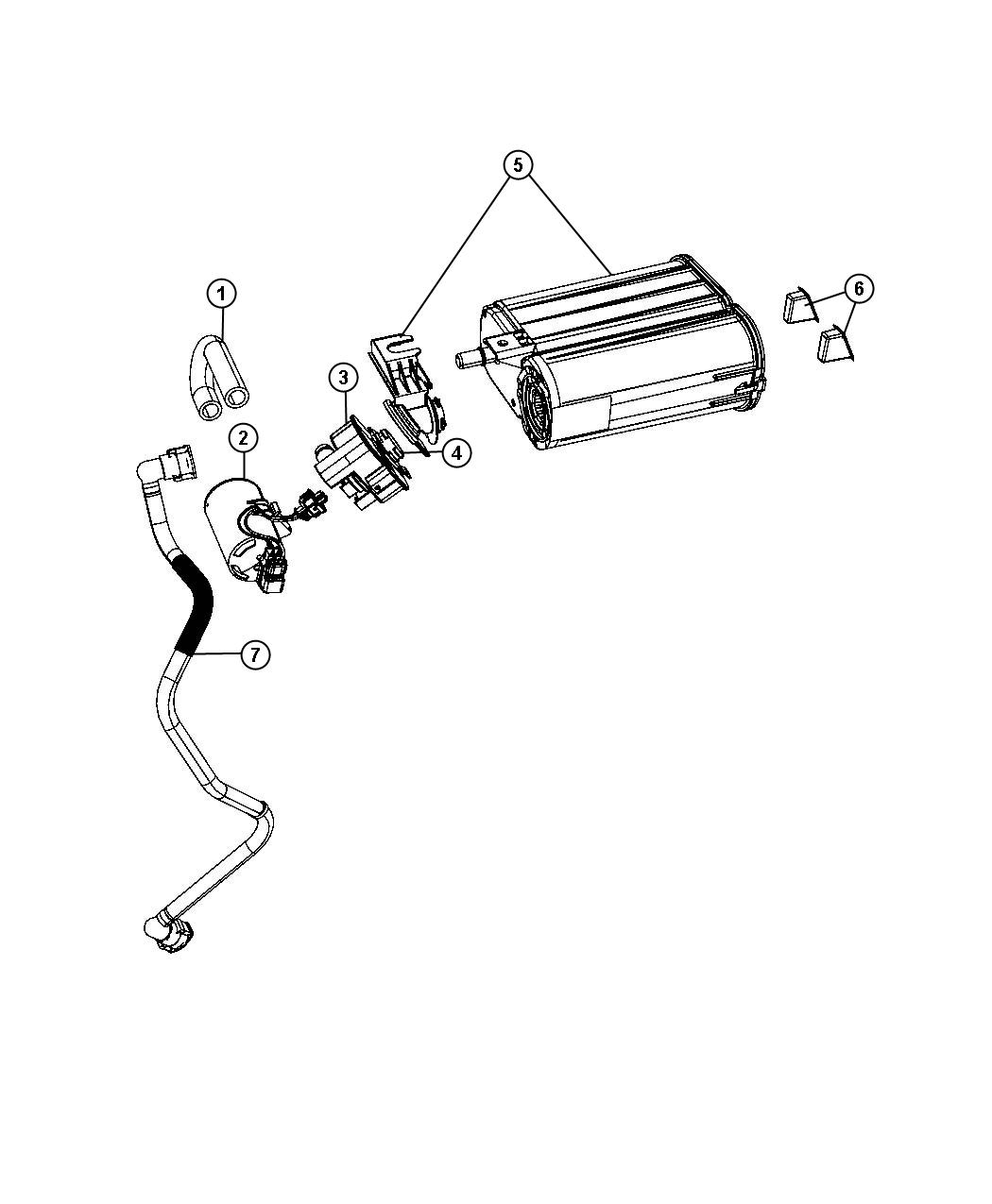 Dodge Charger Leak Detection Pump Location 2002 Jeep Grand