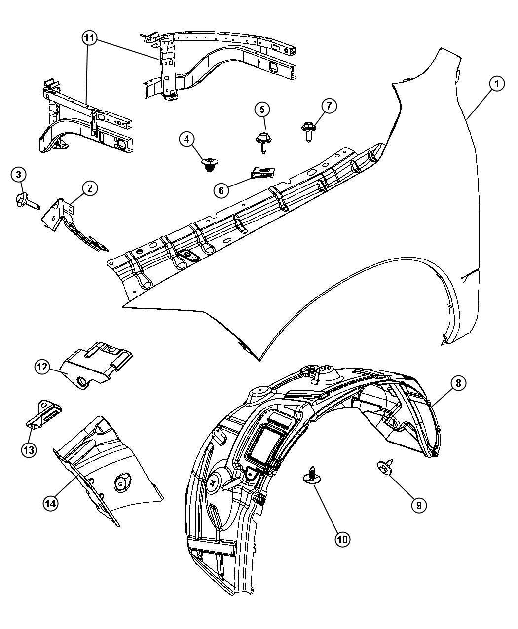 Plastic Parts Diagram Dodge Ram 2500. Dodge. Auto Wiring