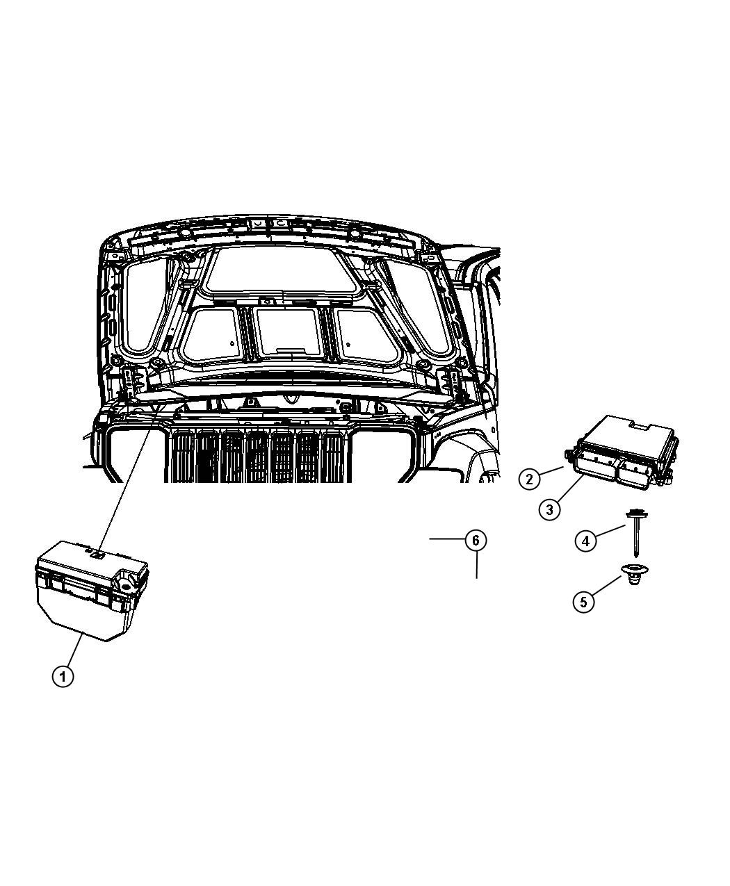 Jeep Liberty Module. Totally integrated power. Export