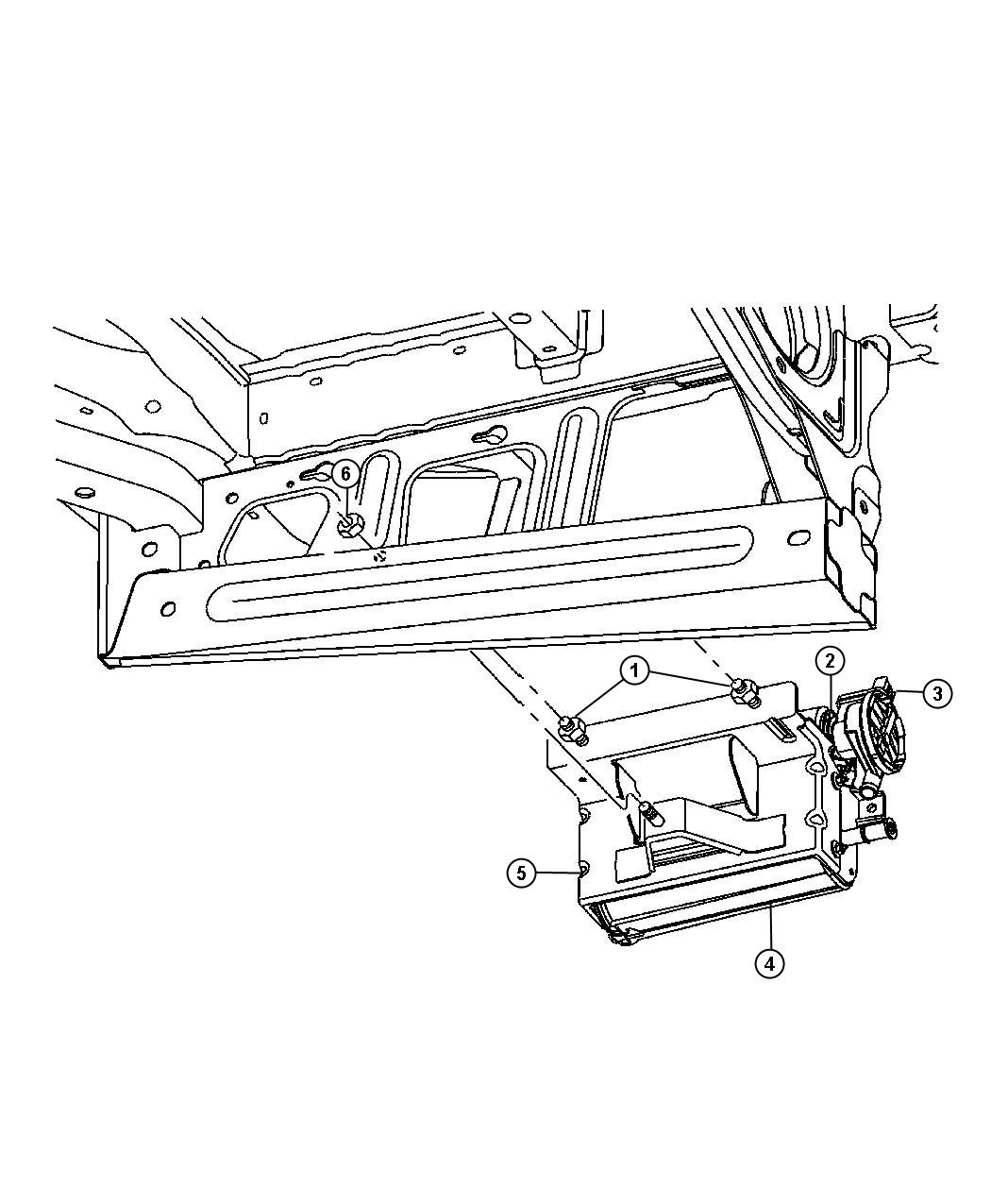 2005 Dodge Ram 1500 Filter. Fuel vapor vent, leak