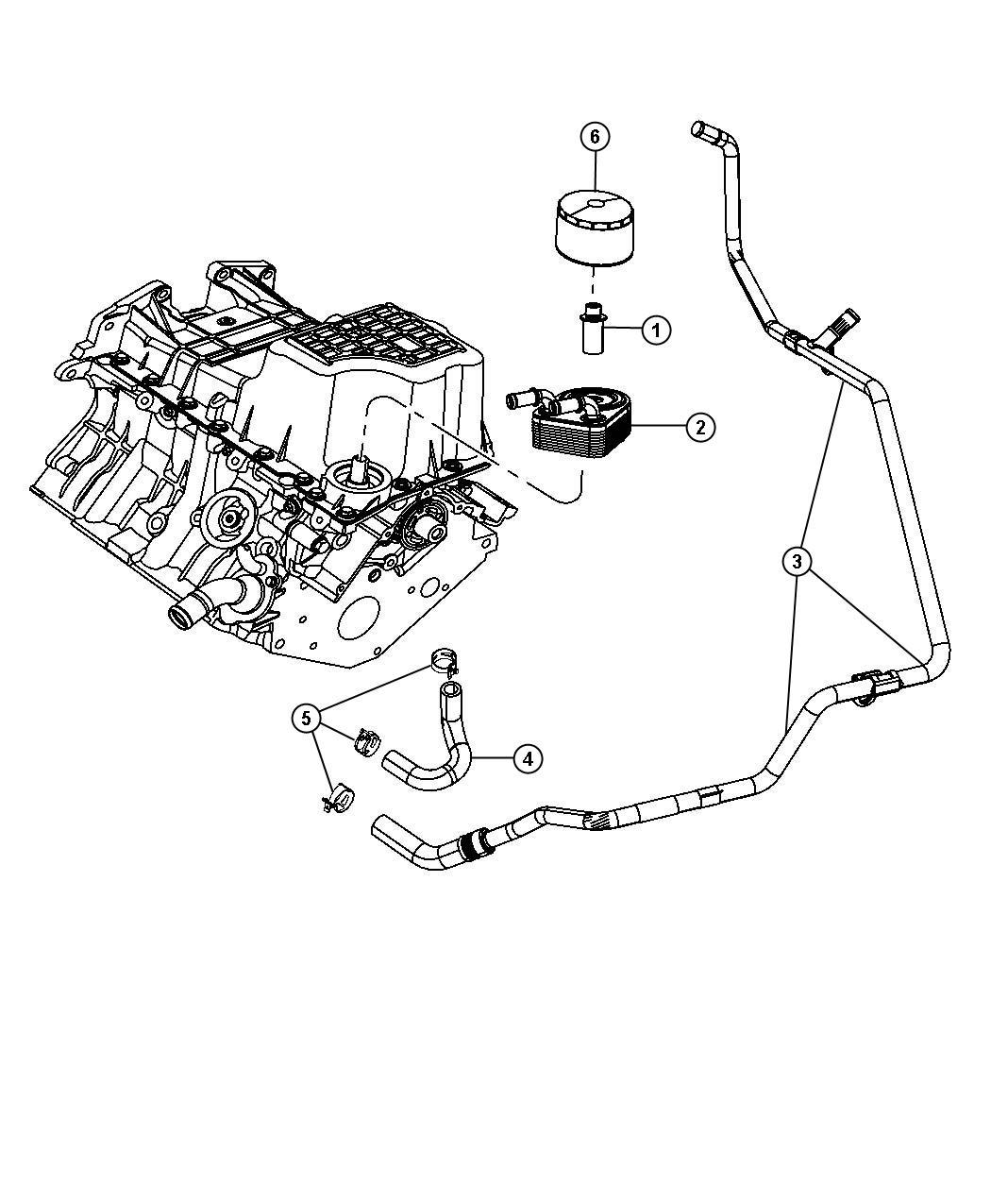 Dodge Intrepid Engine Diagram Oil Cooler Get Free, Dodge