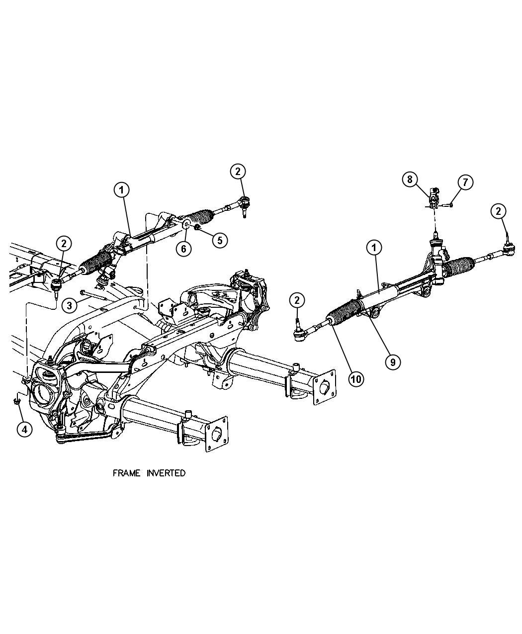 Chrysler Aspen Shaft Intermediate Steering Column