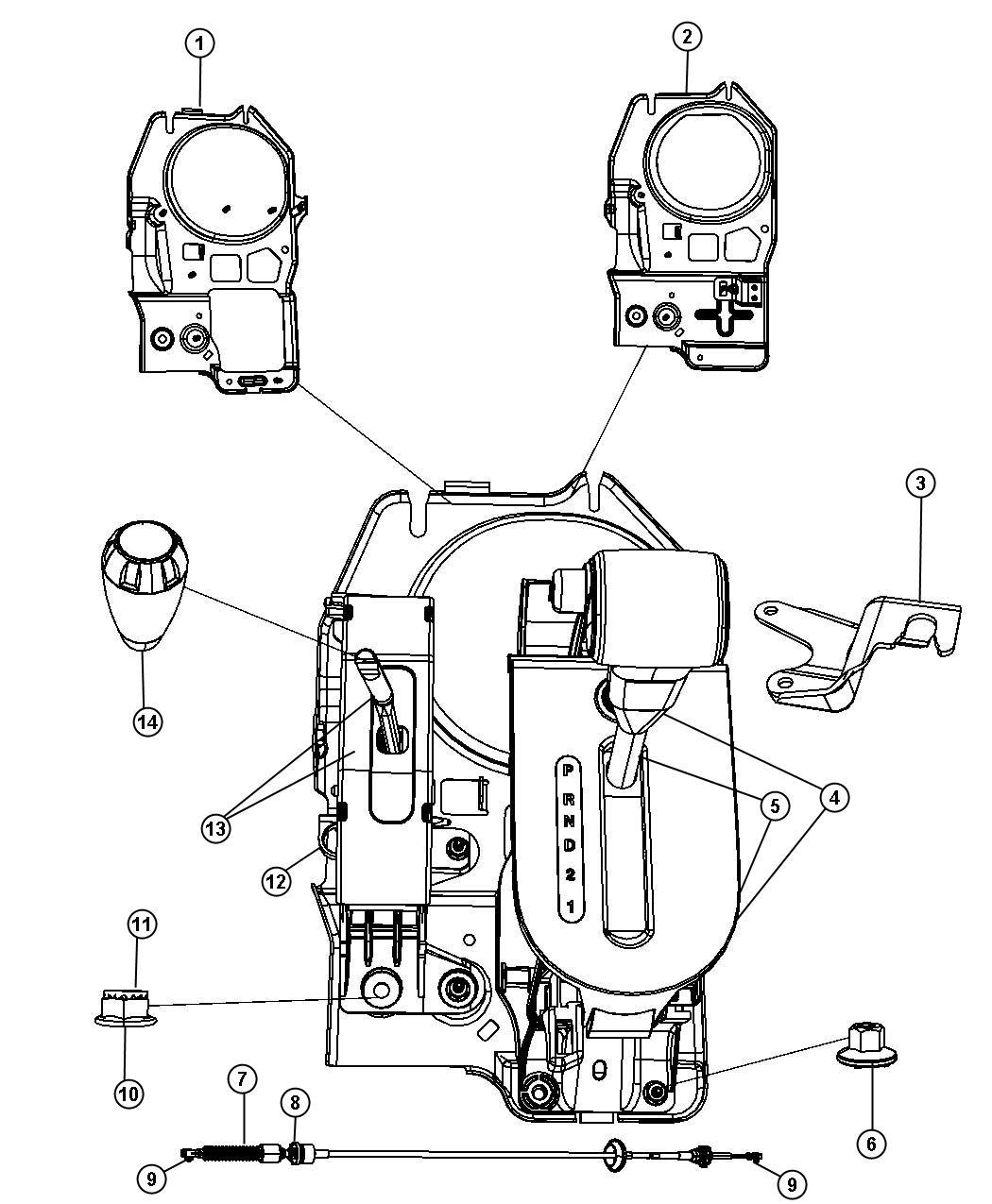 Jeep Wrangler Bracket, shifter sled bracket. Manual