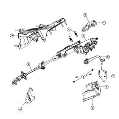 Jeep Wrangler Steering Column Diagram Haltech E6k Wiring Rx7 Liberty Parts Car Interior Design