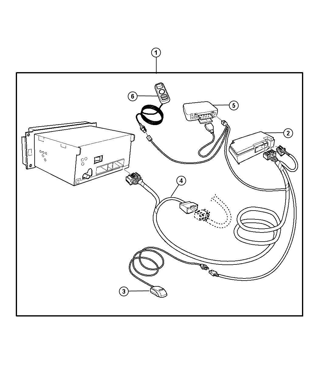 Dodge Intrepid Hands Free Kit Cellular Phone Bluetooth