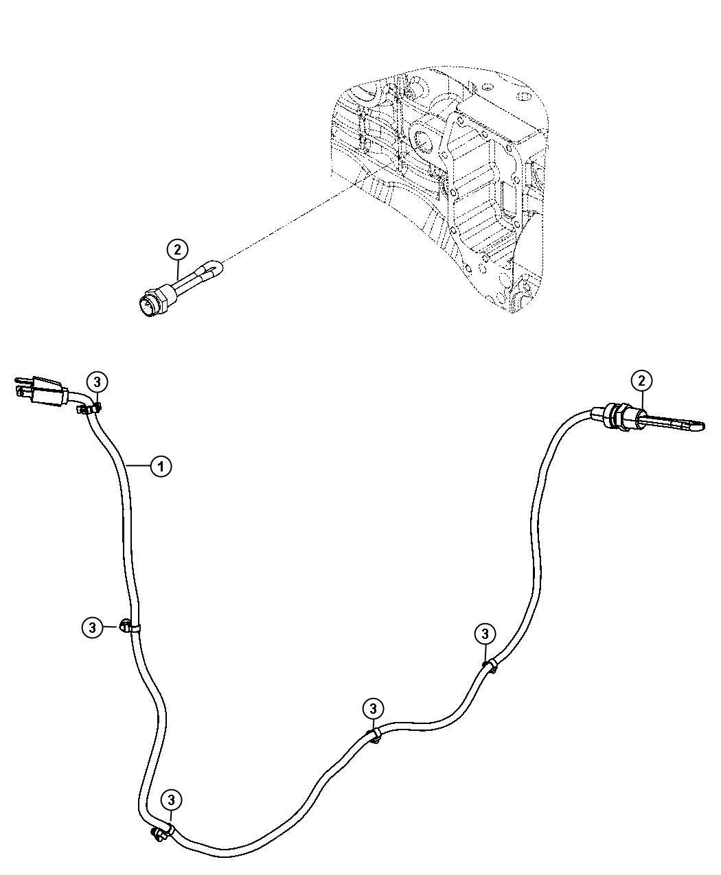 Dodge Ram Engine Cylinder Block Heater 6 7l