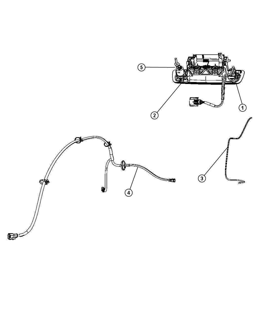 Dodge Ram 1500 Cylinder. Tailgate lock. Tailgateparkviewtm