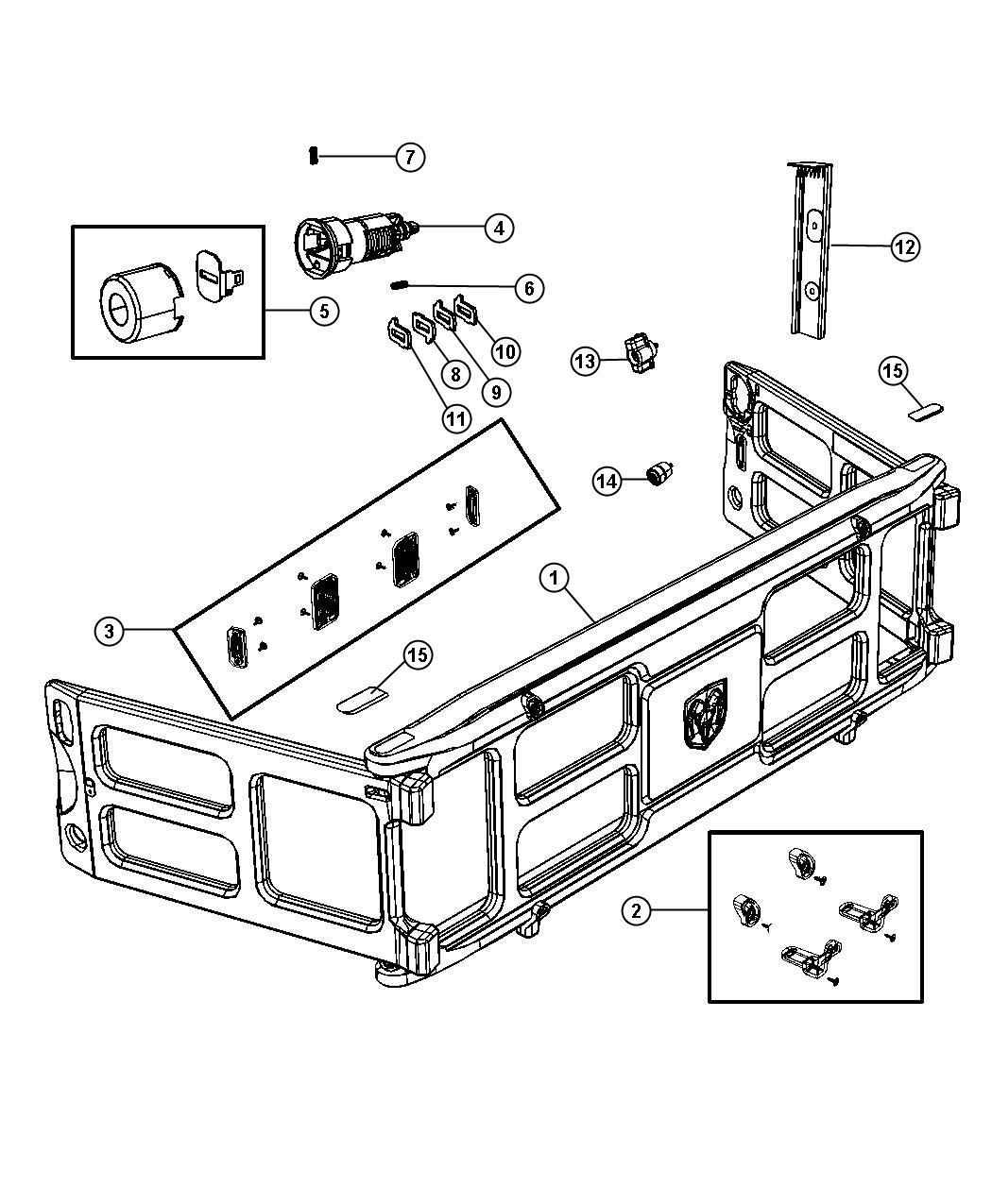 Dodge Ram Box Divider Extender