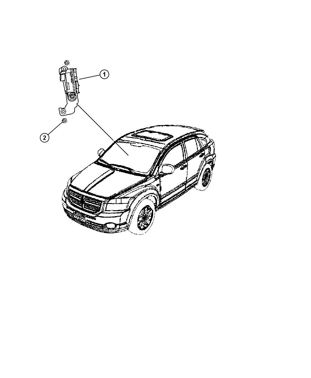 Jeep Compass Sensor. Dynamics. Used for: lateral