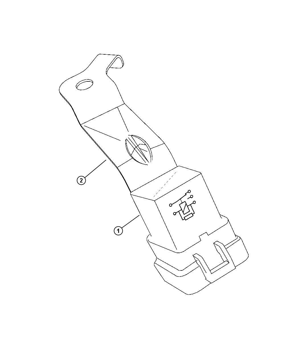 Dodge Magnum Relay Vacuum Pump.