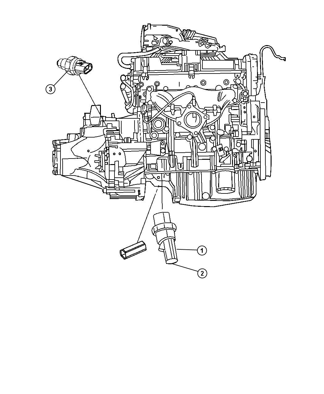 Dodge Journey Switch Package Oil Pressure