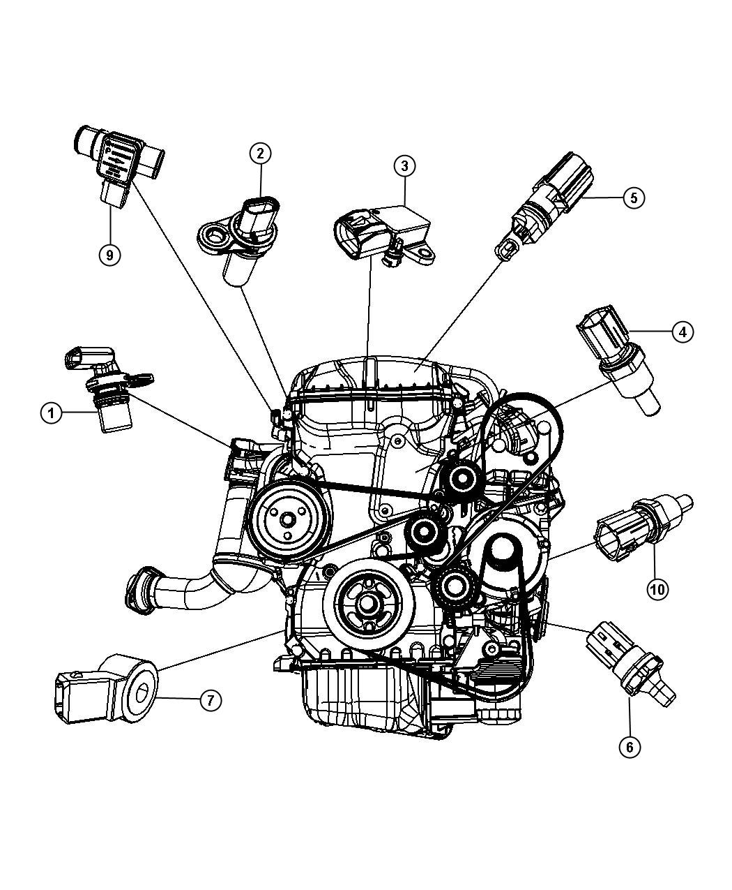 Subaru Tribeca Thermostat Location