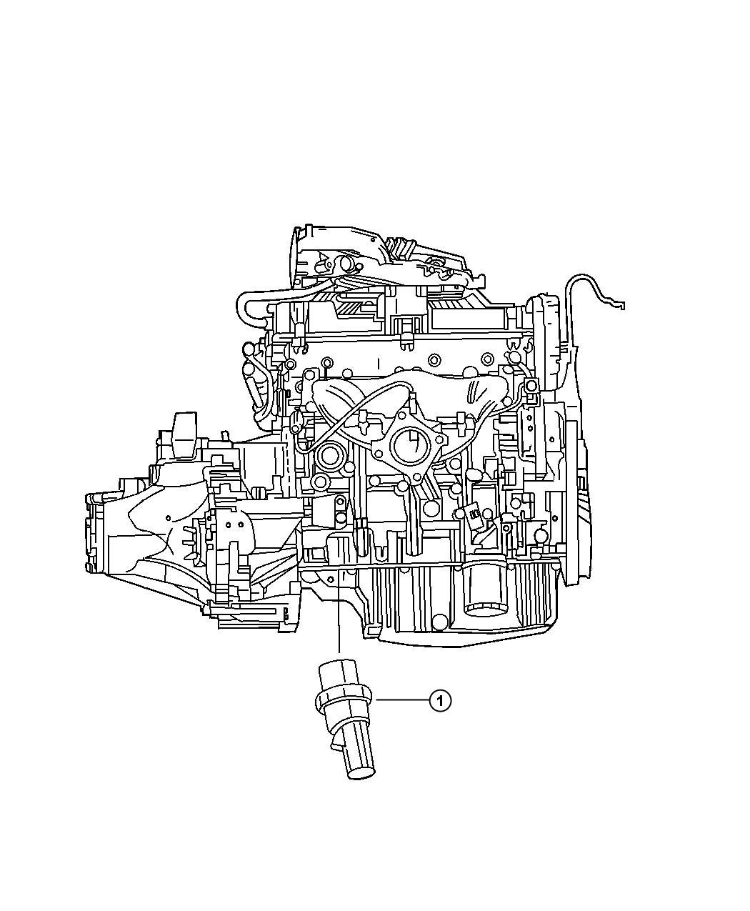 Dodge Charger Sending Unit Oil Pressure Adaptercooler