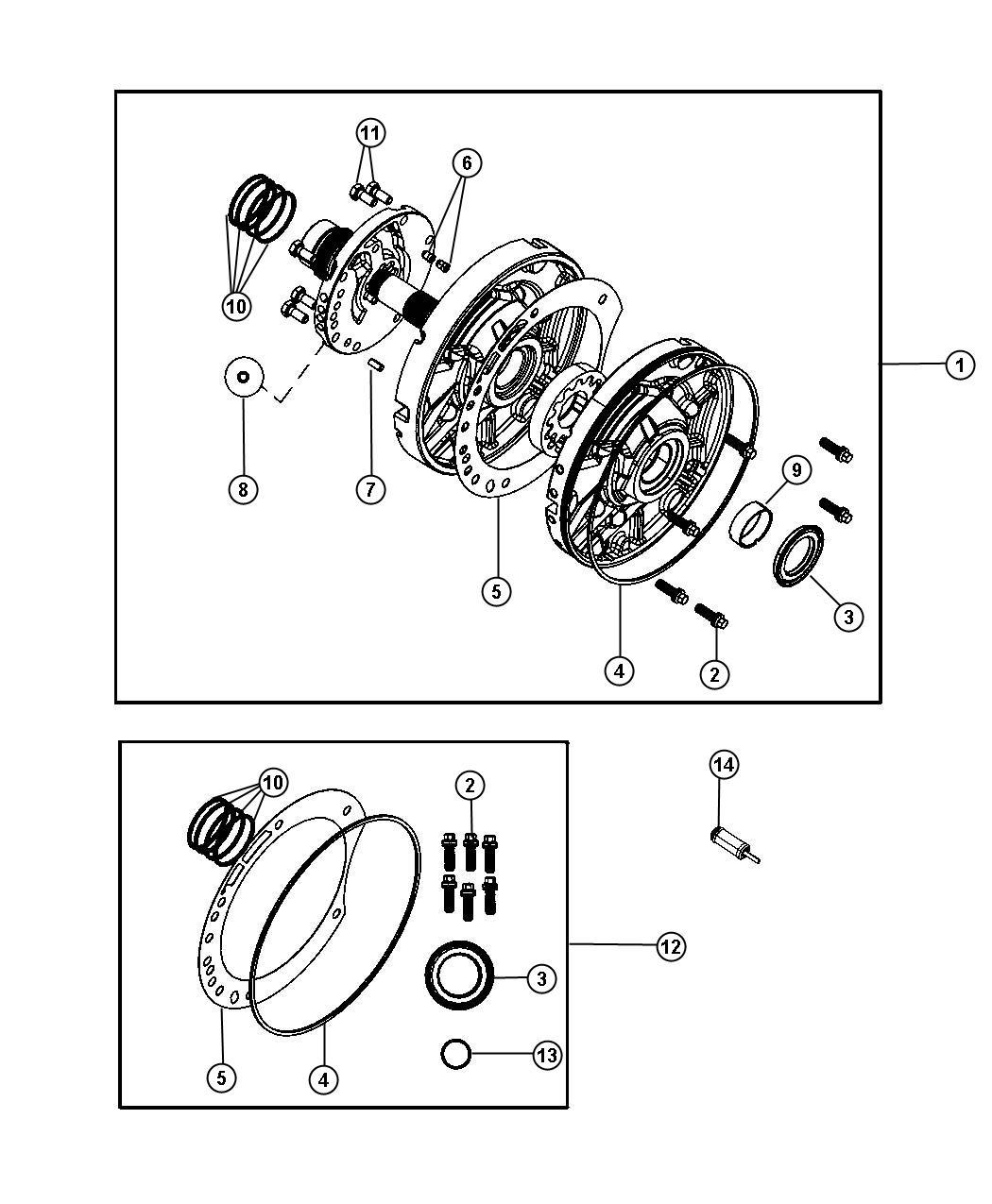 Chrysler 200 Pump. Transmission oil. Remanufactured