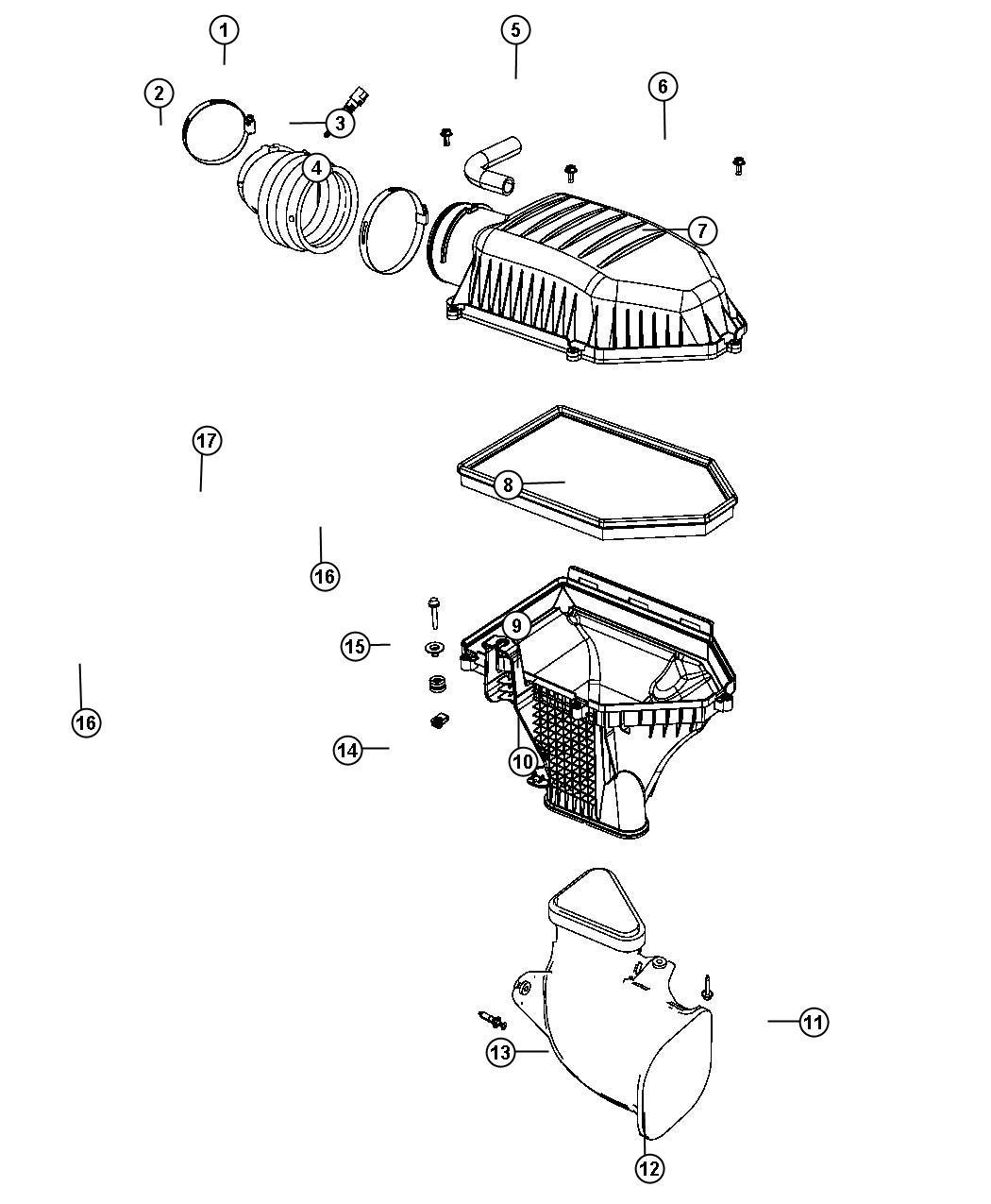 Chrysler 300 Shield Air Intake