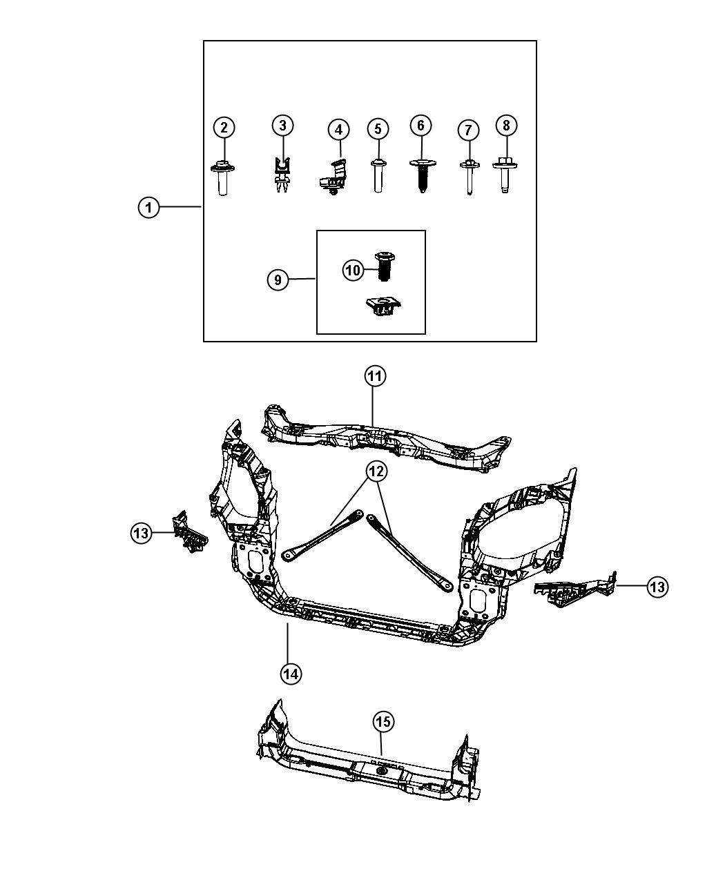 Service manual [Fender To Radiator Brace Removal 2011