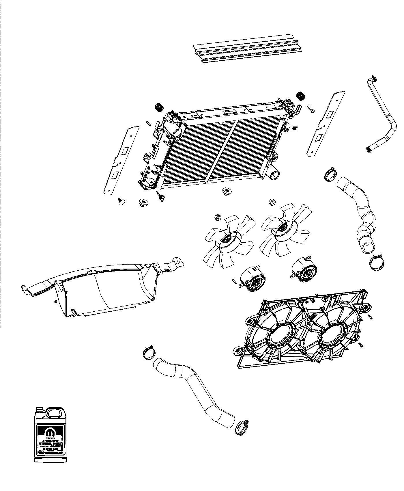 Chrysler 200 Antifreeze Us Coolant Gallon Concentrate