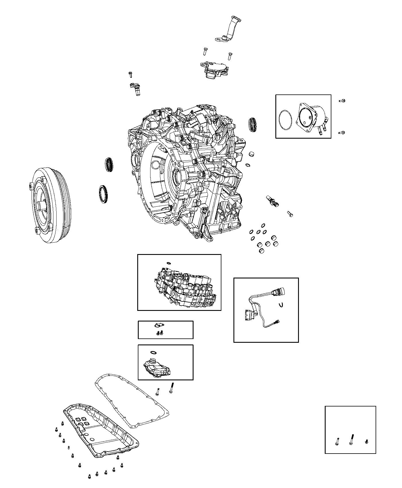 2008 Jeep Patriot Sensor. Primary revolution. Drivetrain