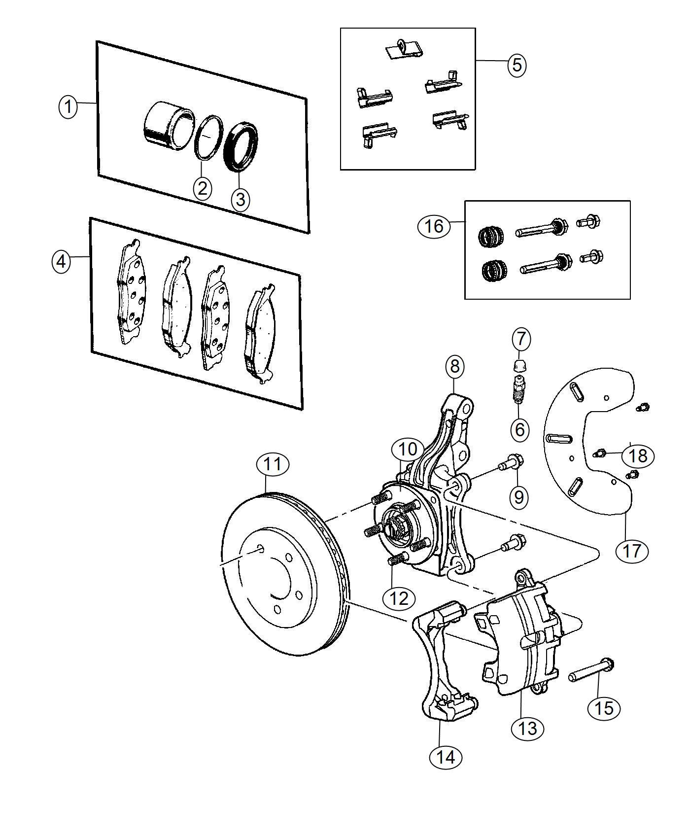 Chrysler 200 Rotor. Brake. Front. Magneti marelli