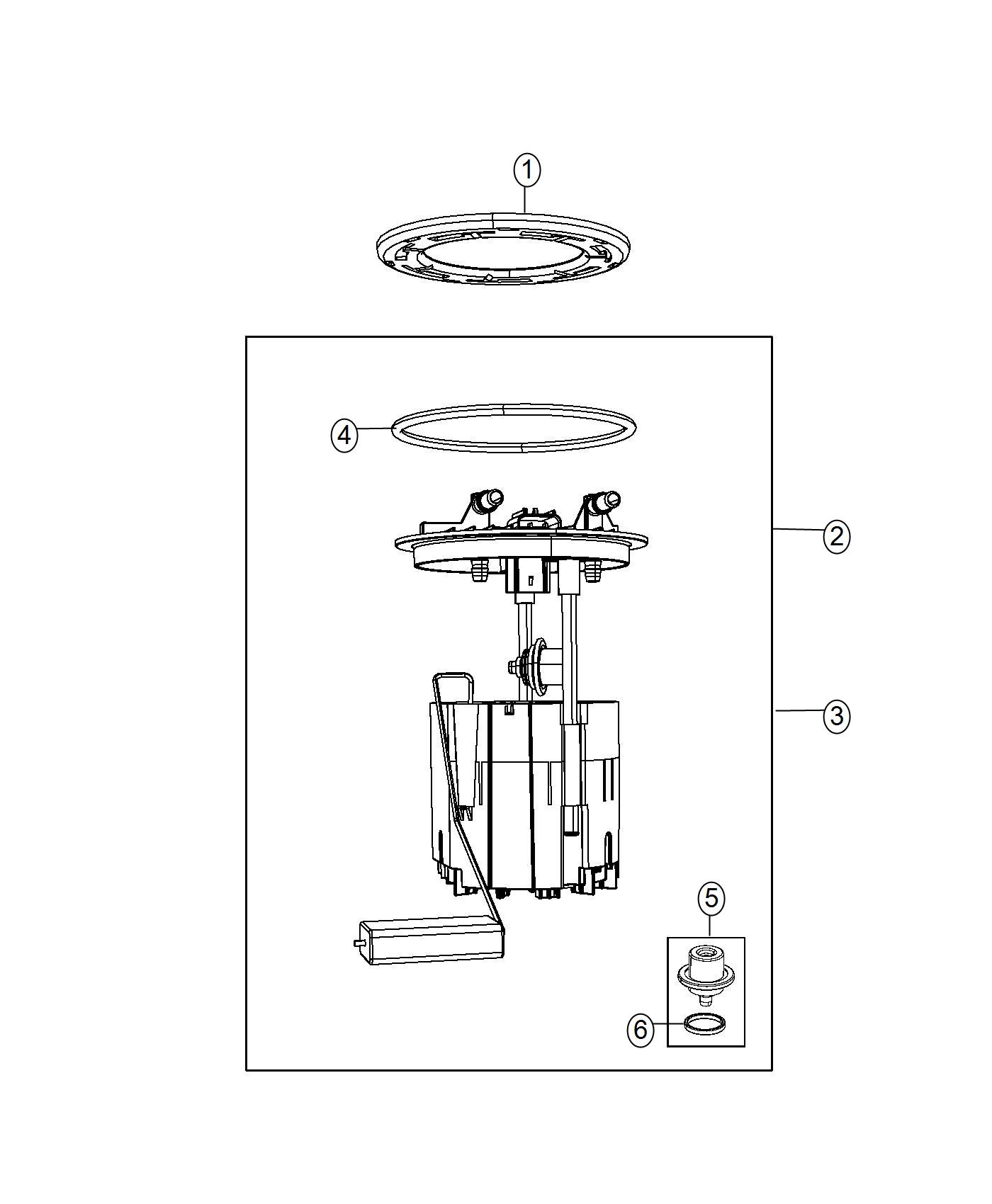 Dodge Grand Caravan Regulator Kit Fuel Pressure