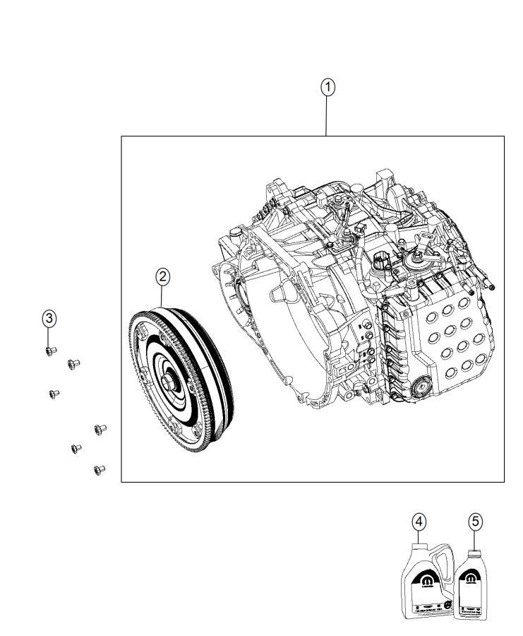 2015 Jeep Fluid. Automatic transmission. Quart. Moduletbd