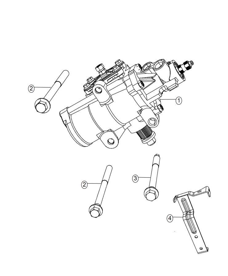 RAM 3500 Gear. Power steering. Remanufactured. [power