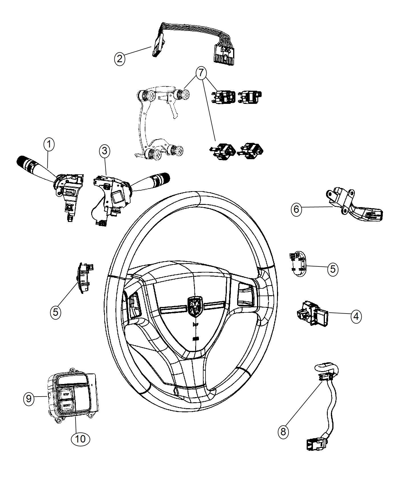 Jeep Wrangler Switch Odometer Trim All Trim Codes