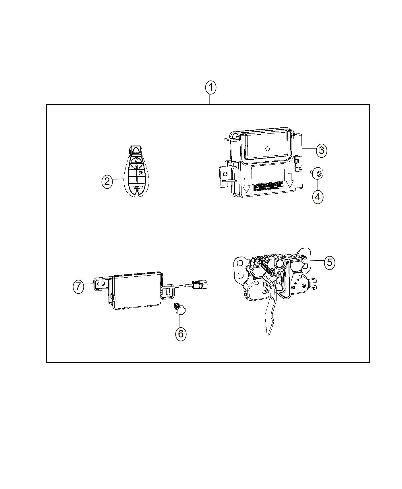 Ram Antenna Used For Remote Start And Keyless