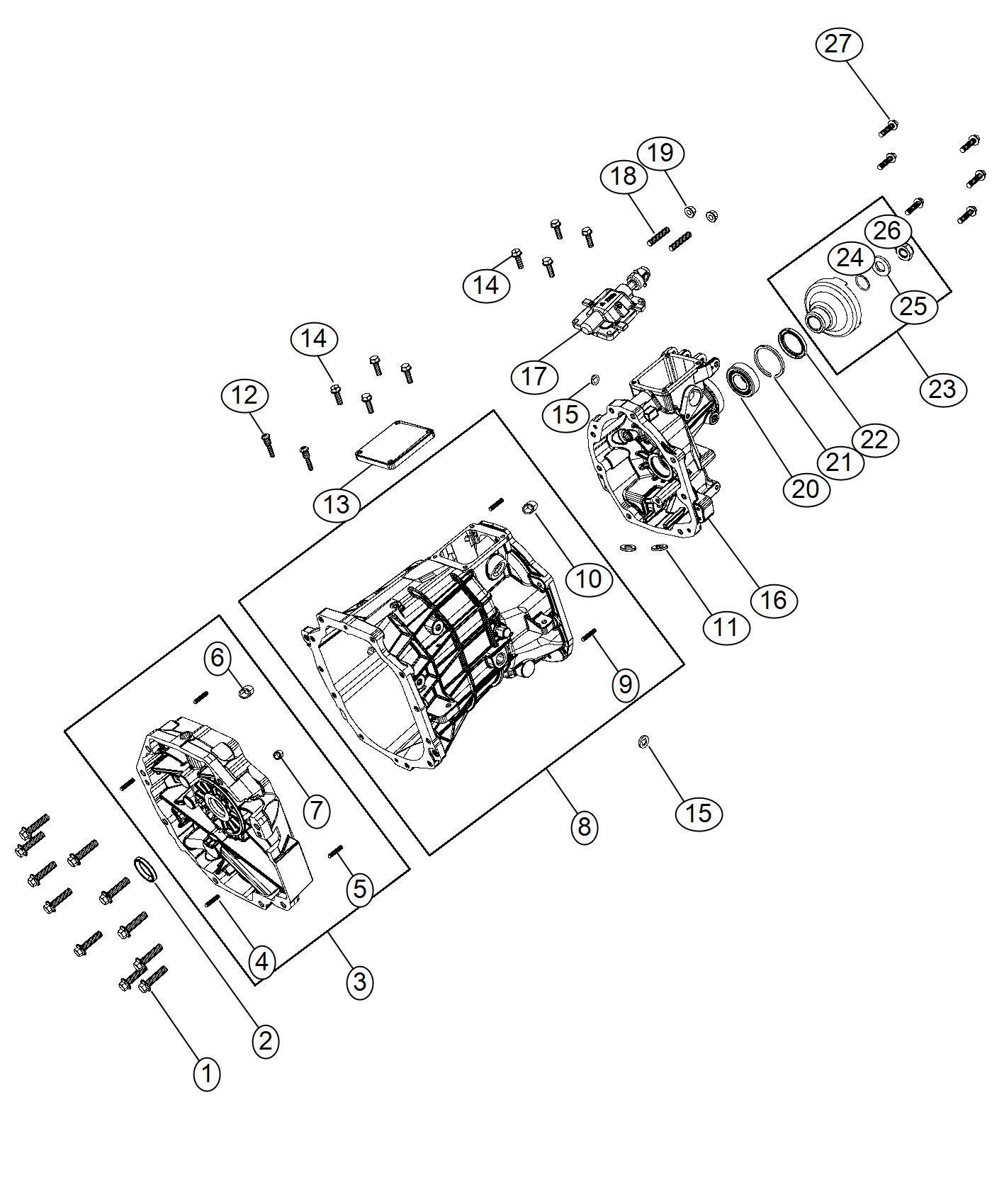 Dodge Ram 1500 Plug. Oil fill, transmission drain. Drain