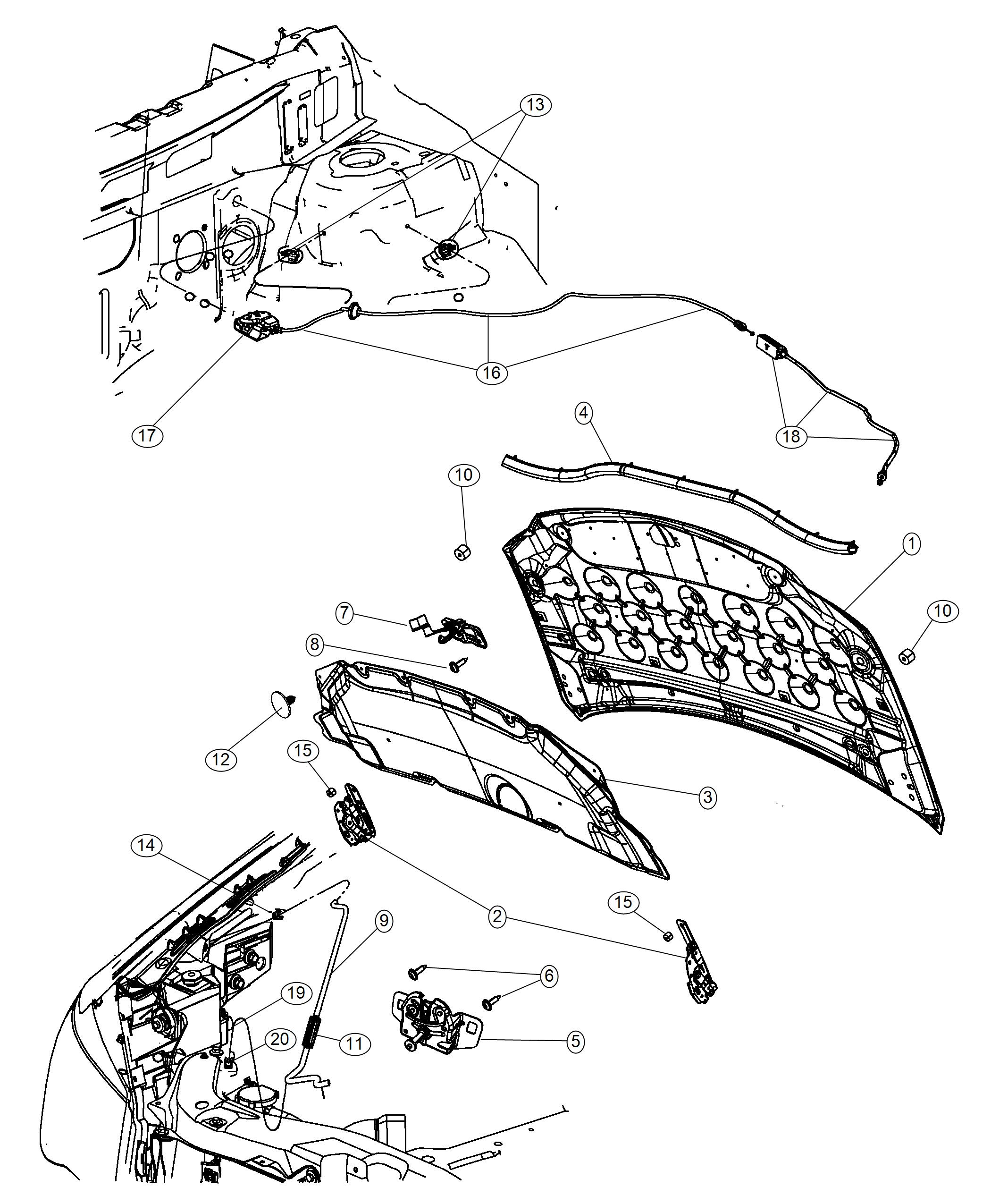Chrysler Auto Parts Diagram
