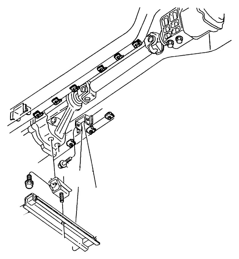 2003 Dodge Viper Isolator, mount. Transmission