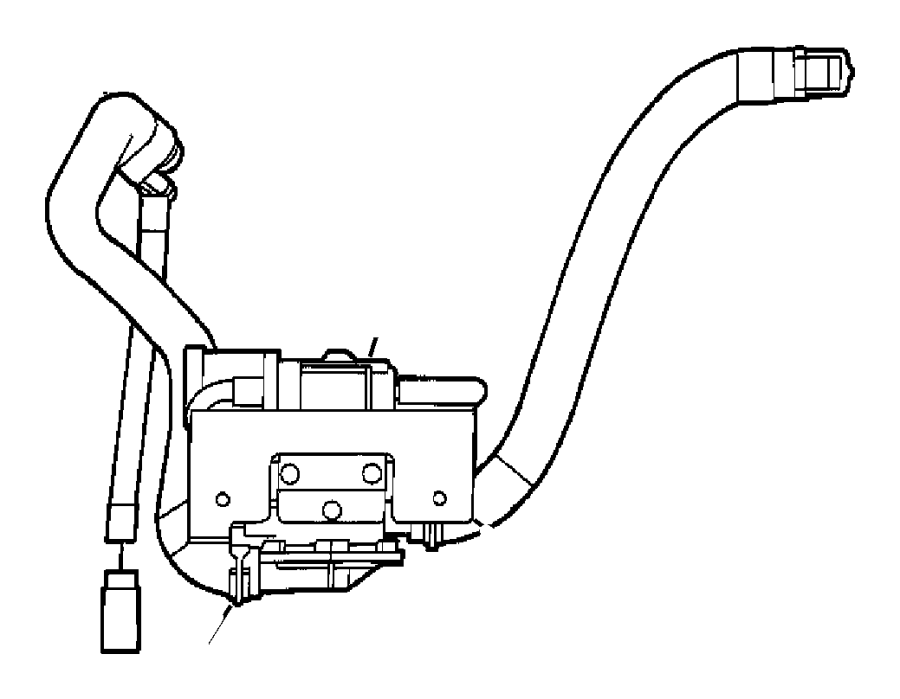 2005 Dodge Ram 1500 Vacuum Canister and Leak Detection