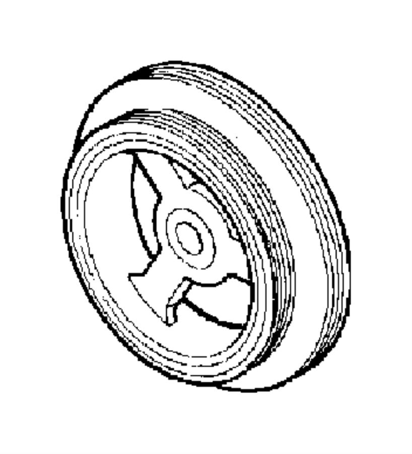 Chrysler Pt Cruiser Damper. Engine vibration. Ecm