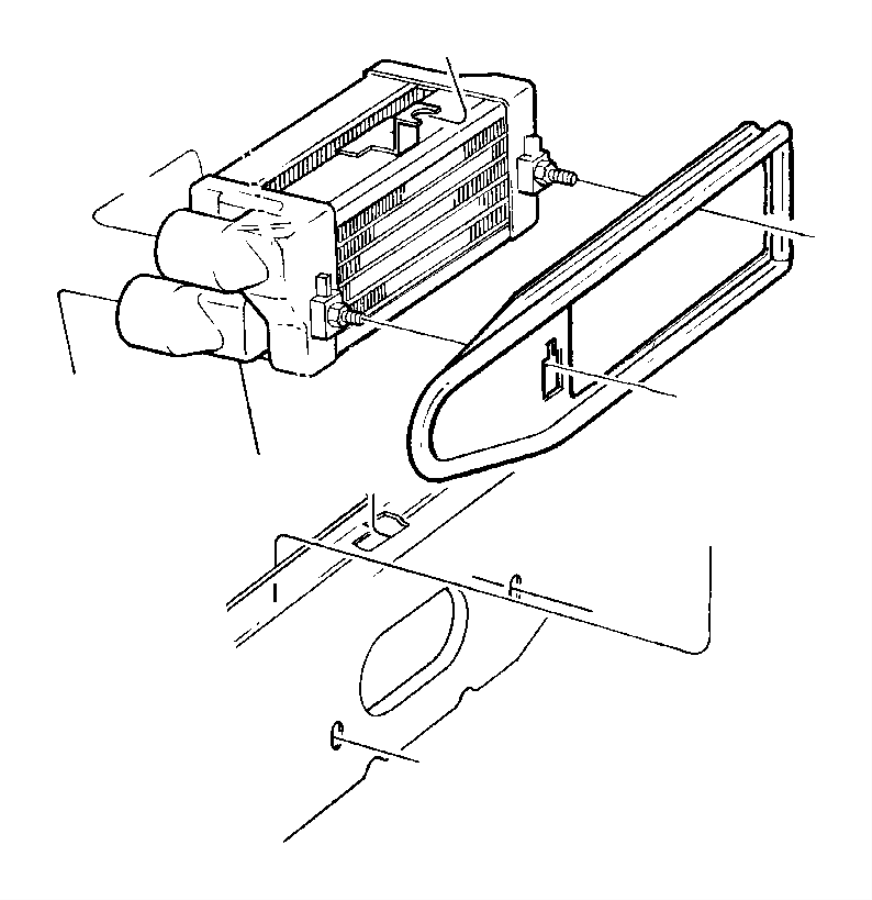 Heater And Air Conditioning Front