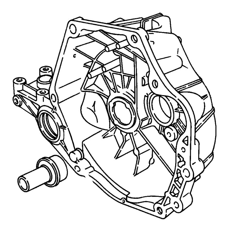 Chrysler Pt Cruiser Bearing, bearing assembly. Input
