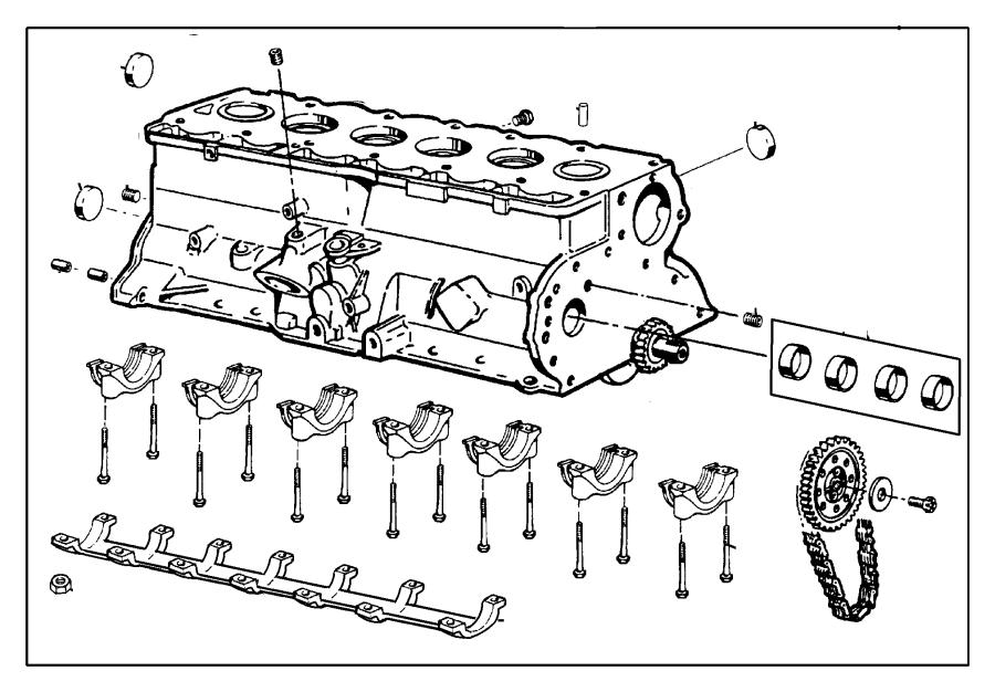 Jeep Wrangler Plug. Cylinder block oil hole. Freeze plug 2