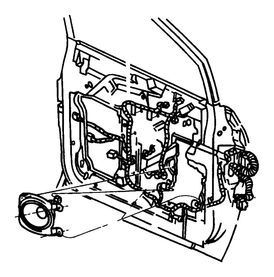 Plymouth Grand Voyager Wiring. Door. Right, right door