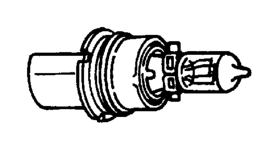 Dodge Dakota Bulb. 74. Visor mirror. Trim: [all trim codes