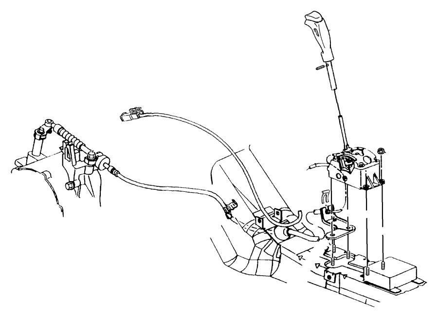 Chrysler Sebring Shifter. Transmission. Autostick