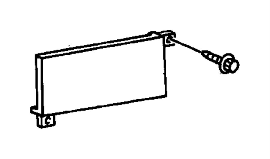1999 Dodge Ram 1500 Cupholder. Instrument panel