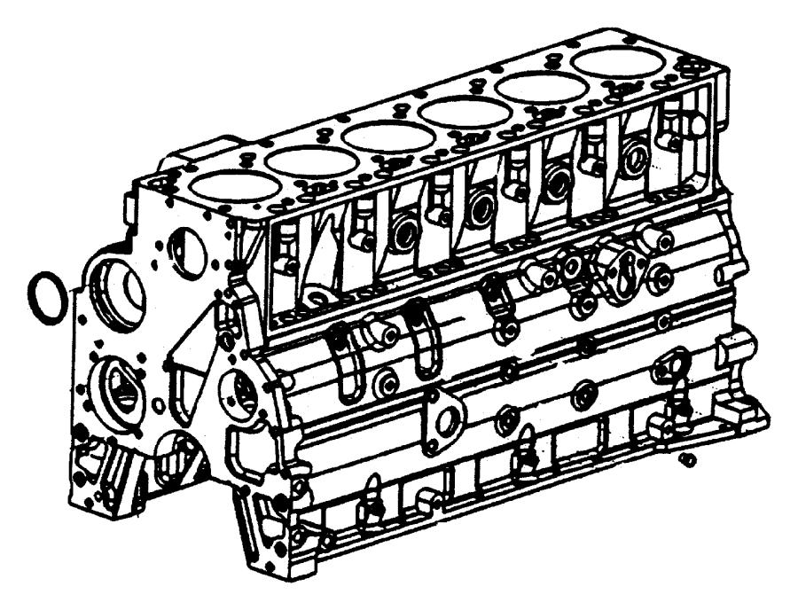 Cylinder Block Heater 5.9L Diesel [5.9L I6 HO Cummins TD
