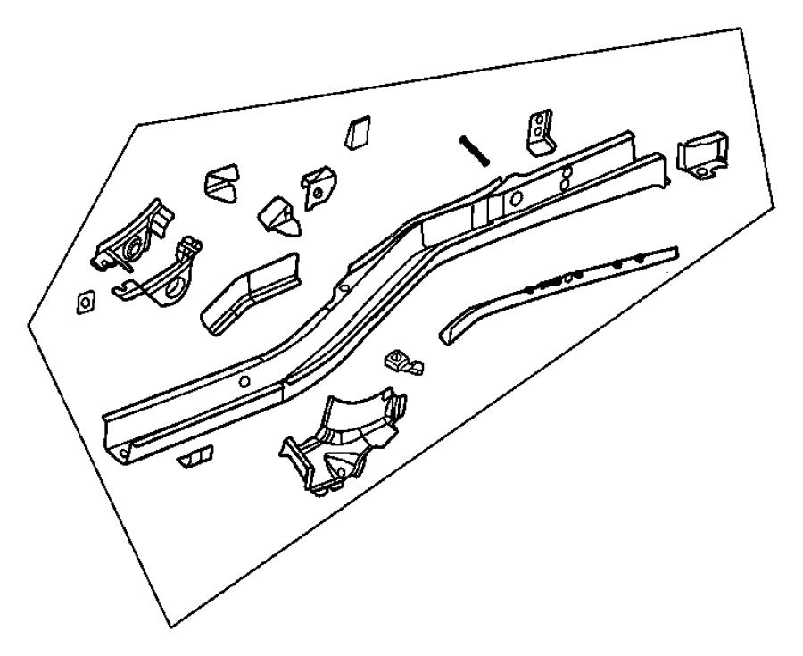 Jeep Grand Cherokee Shield. Fuel tank. Evc, evaerhexa